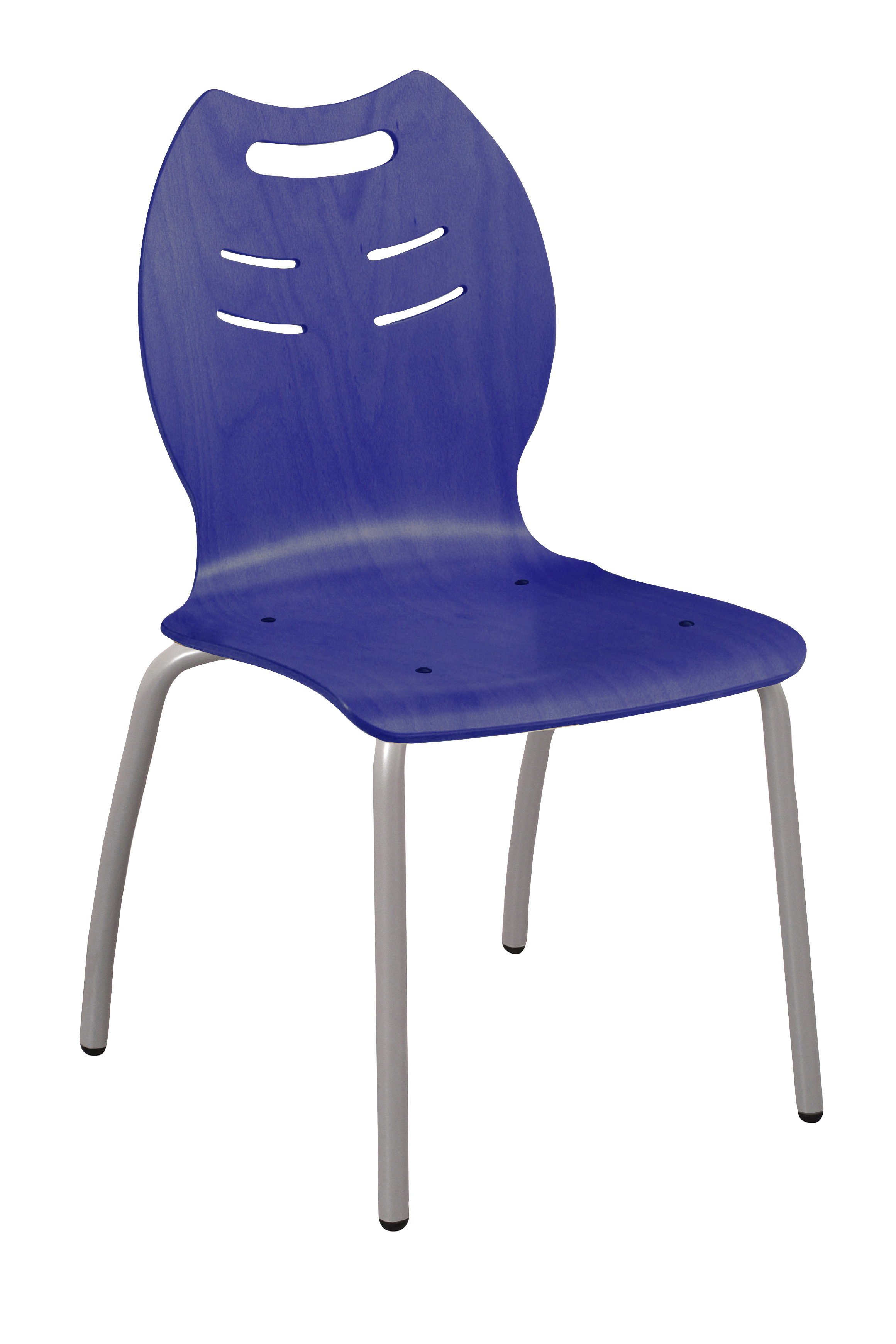 Chaise coque bois 4 pieds 25 simire for 4 pieds 4 chaises givors