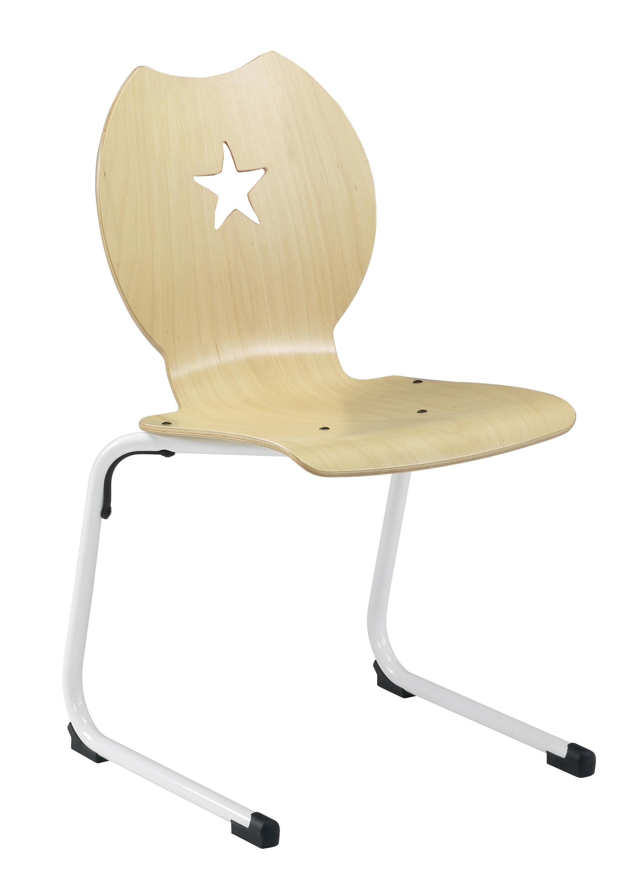 chaise coque bois ast nemo etoile simire. Black Bedroom Furniture Sets. Home Design Ideas