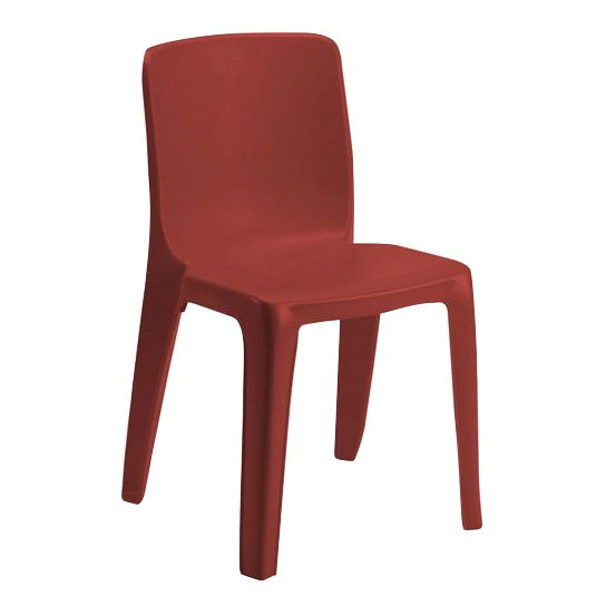 chaise monobloc polypropyl ne denver simire. Black Bedroom Furniture Sets. Home Design Ideas